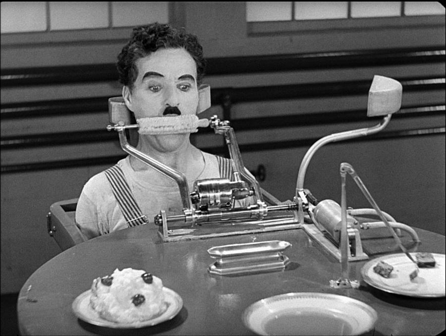 Chaplin Essensmachine