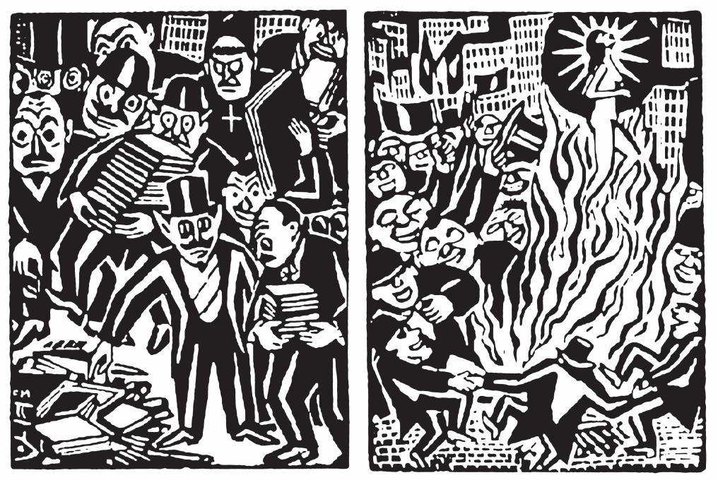 Bild Bücherverbrennung